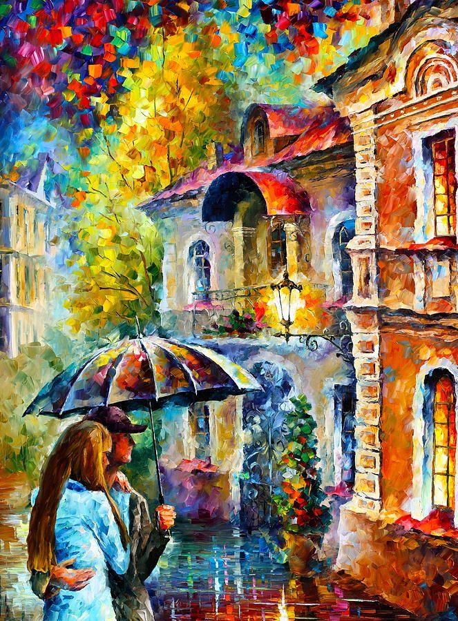 Hidden Love By Leonid Afremov Art Painting Oil Painting On