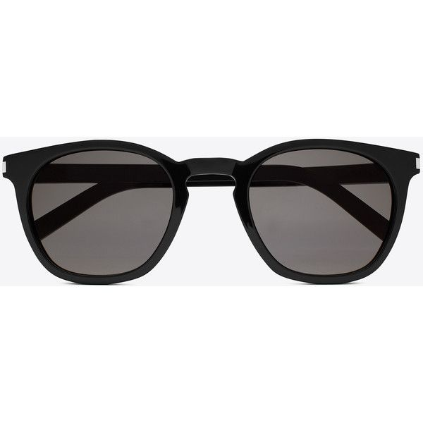 742ad0f3455 Saint Laurent Classic 28 Sunglasses ( 405) ❤ liked on Polyvore featuring  accessories