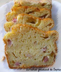 Cake au Boursin et au jambon