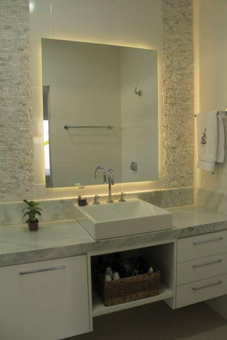 Ba os de estilo minimalista por canatelli arquitetura e for Decoracion de casas brasilenas