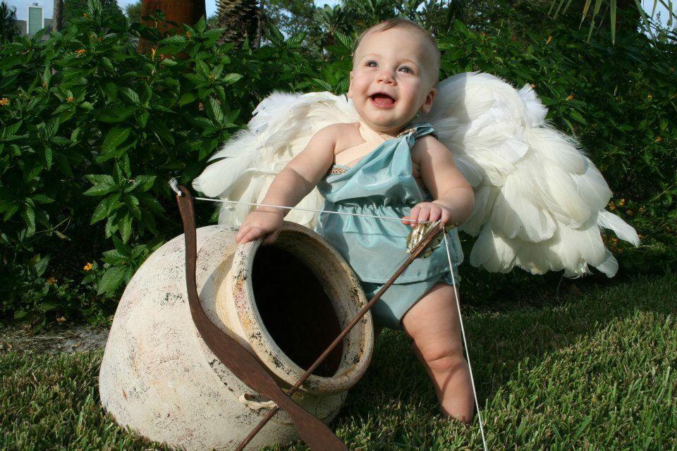 Cherub cupid baby costume by Darcy | Baby costumes ...