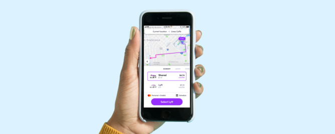 Lyft app to be updated with 'one tap to ride' feature