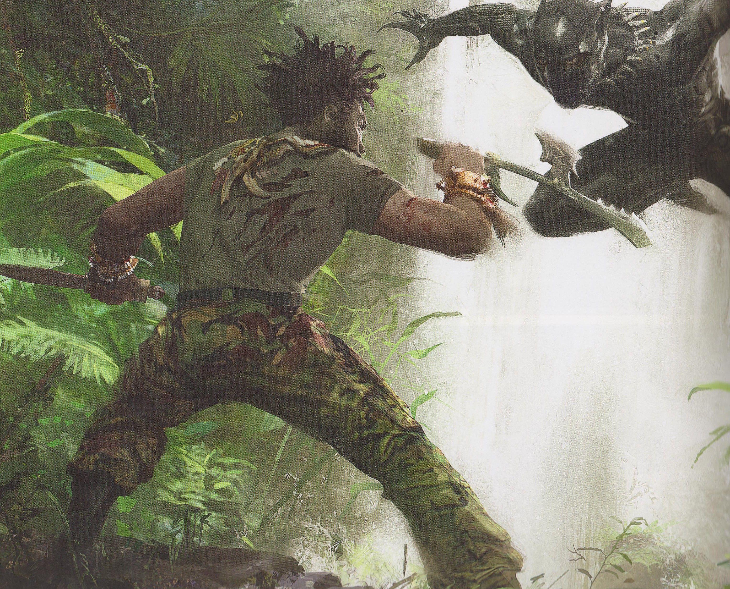 T Challa Battles Erik Killmonger In Some Unexpected