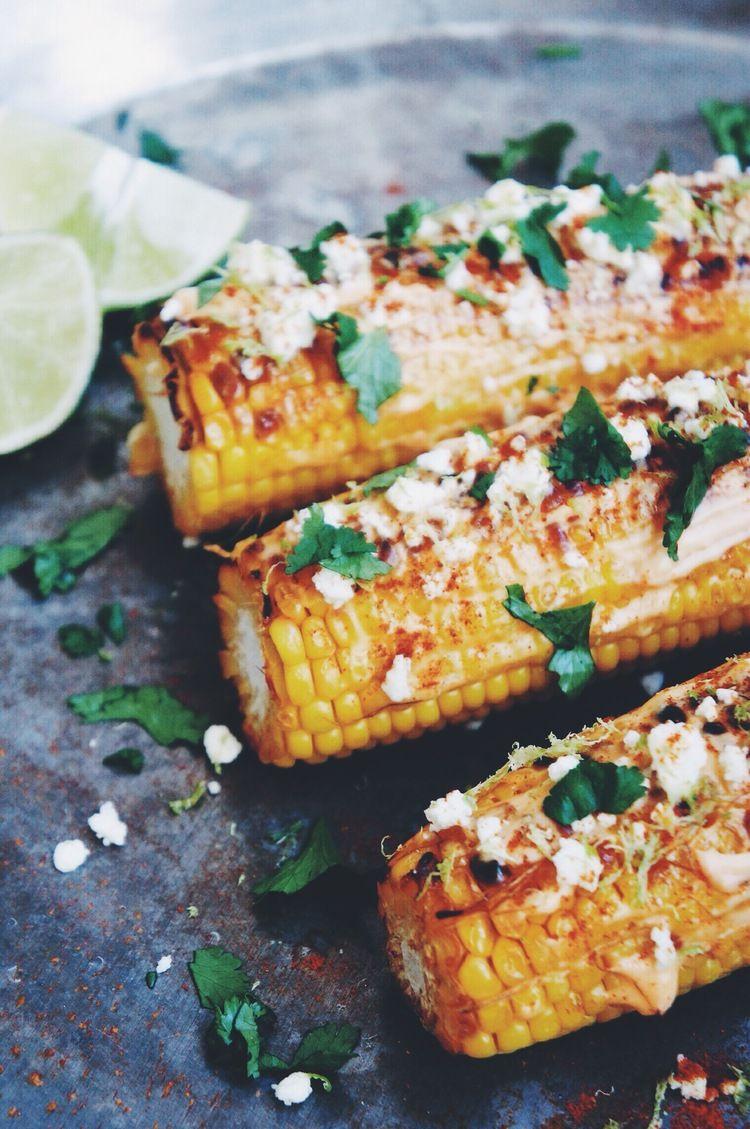 Mexican Street Corn Elotes Vegetarian bbq, Bbq recipes