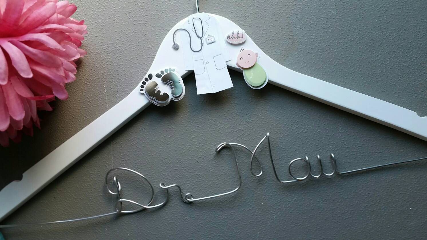 Personalized Obstetriciangynecologist Hanger Doctor Gift Custom