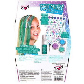 Mermaid Vibes Hair Design Kit Hobby Lobby 5059258 Kits For Kids Hair Designs Craft Activities For Kids