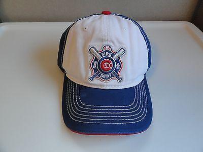 Chicago Cubs Firefighter Appreciation Night Fire Department Cap 2016 SGA New