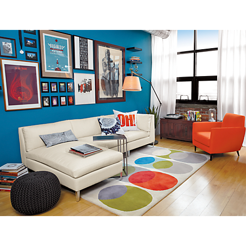 Modern Area Rugs: Contemporary Rugs For The Home. Cb2 FurnitureOrange Chairs Picture ...