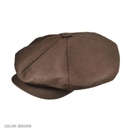 Big Apple Cap-Linen available at  Brighton e6b78ecdea6