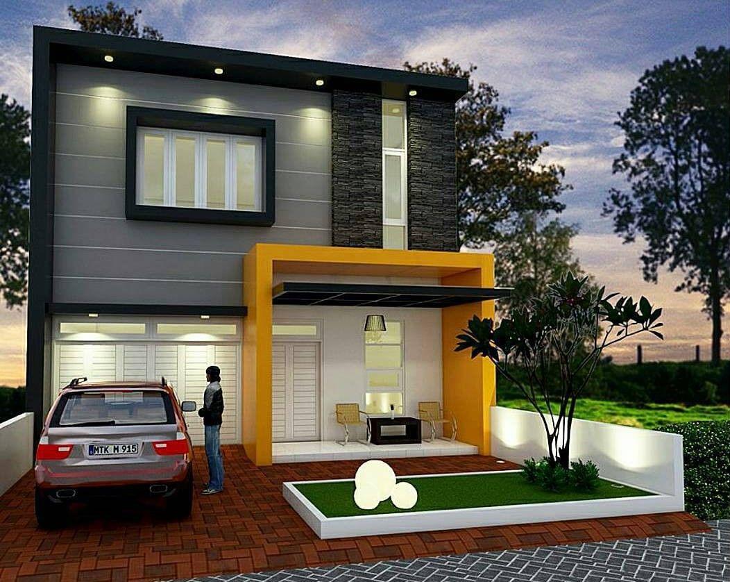Fußboden Modern Terbaru ~ Desain rumah minimalis type 45 1 lantai terbaru modern nha biet