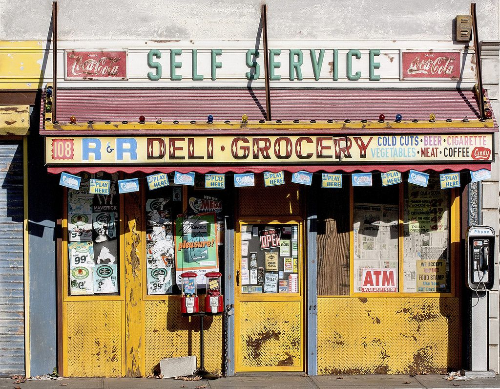 "Randy Hage's ""New York Storefronts"" Dioramas Miniatures"