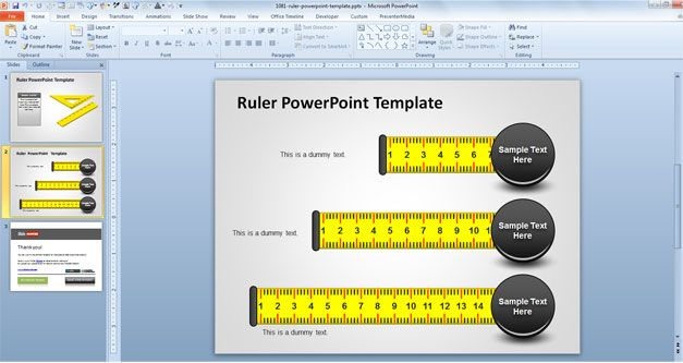 Ruler powerpoint template free ppt presentation template for ruler powerpoint template free ppt presentation template for engineering or architecture and other presentations as toneelgroepblik Gallery