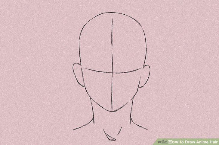 How To Draw Anime And Manga Male Head And Face Ageless Advices How To Draw An Anime Head In 2020 Anime Hair How To Draw Anime Hair How To Draw Hair