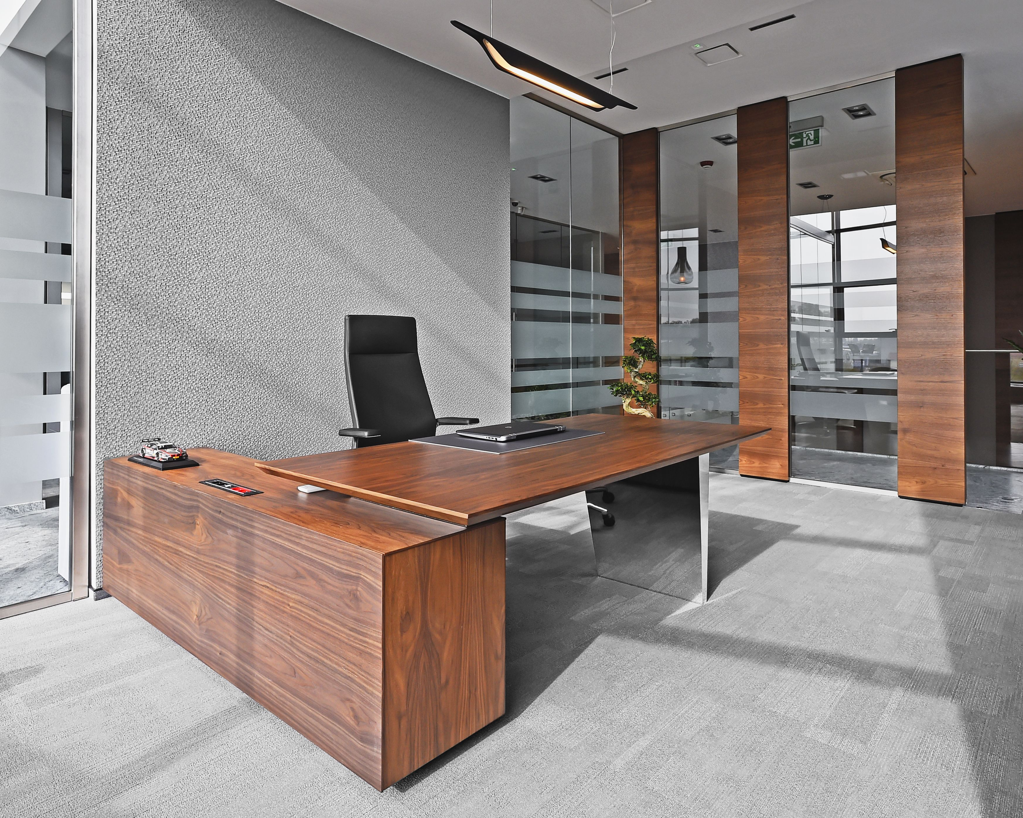 design of office furniture. Office Furniture, Exclusive Office, Walnut Wall Panels, Design Of Furniture R
