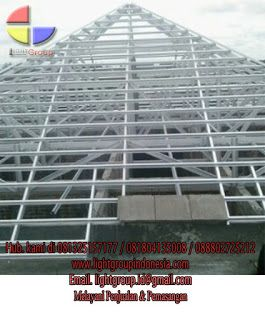 jenis bahan baja ringan light group indonesia material rangka atap