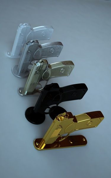 bad ass door handles....I\'d never use these in my home but they ...