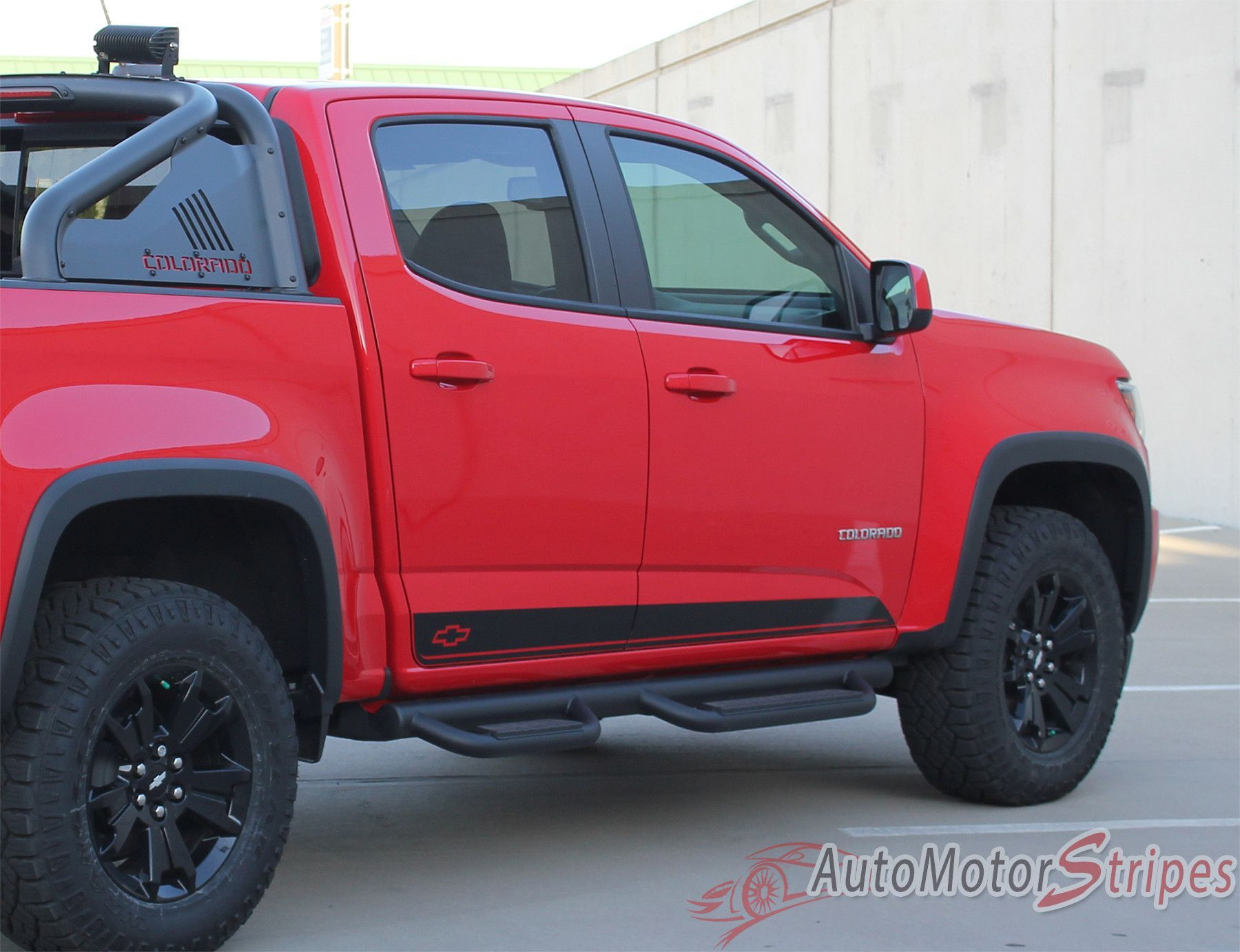 2015-2020 Chevy Colorado RAMPART Lower Rocker Panel Accent ...