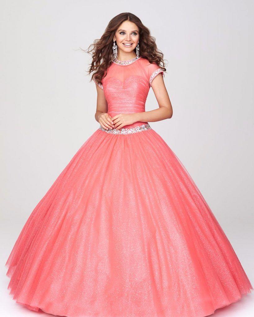 Vestidos de xv años coral 5 | hispanoamerica | Pinterest | Coral ...