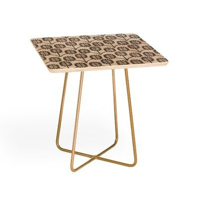 East Urban Home Holli Zollinger Thistle End Table Products