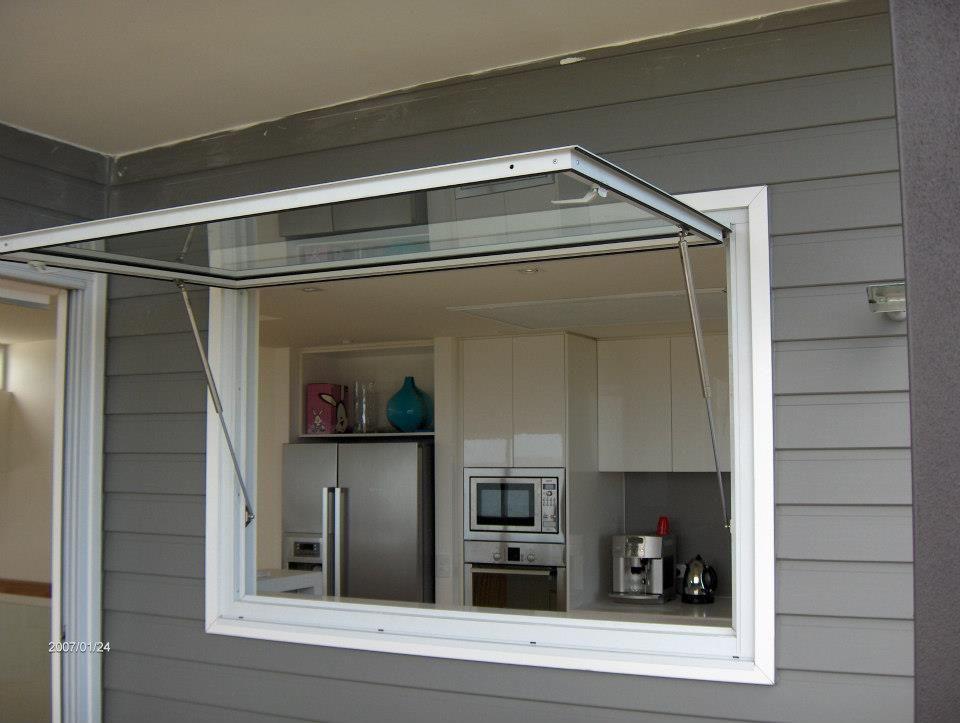 Pin it like image for Garage style kitchen window