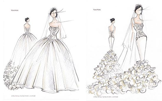 Vera Wang Sketches