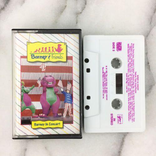 Details About Barney In Concert Cassette Tape Barney