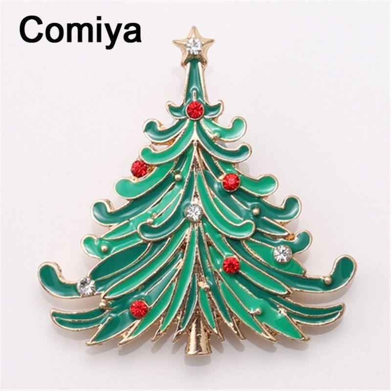 Buy Comiya fashion gold color zinc alloy green epoxy rhinestones ...