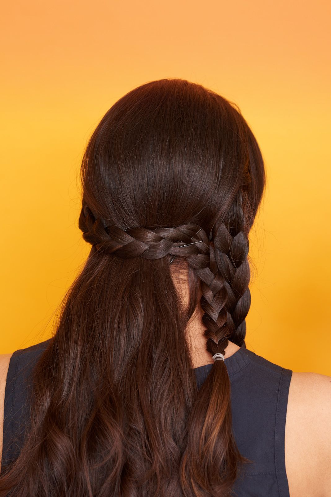 Gorgeous ways to style long hair other helmets and the other side
