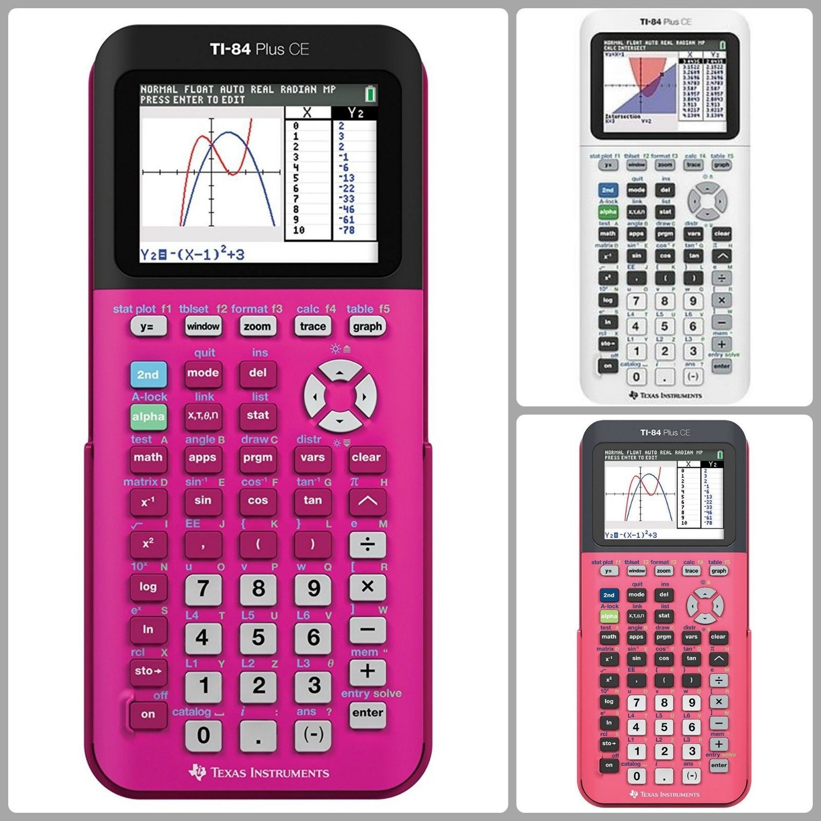 Graphing Calculator Ti 84 Plus Ce Math Print Functionality