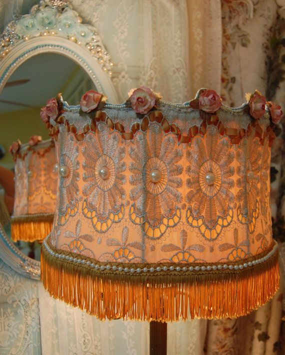 #Victorian style  lampshade.