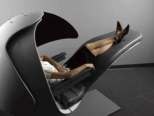 01 energy pod by metronaps sit back & relax: 10 sleek, comfortable, Möbel