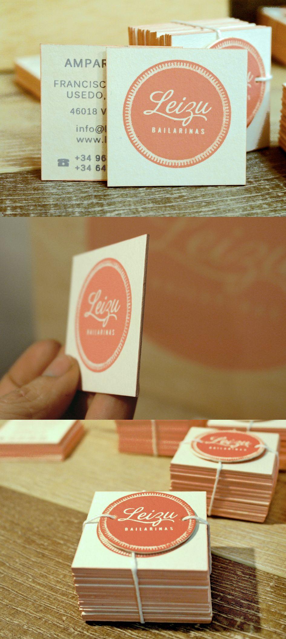 Tarjetas estampadas a mano. Serigrafía, cartón pankastar 1,5 mm, Bordes coloreados.