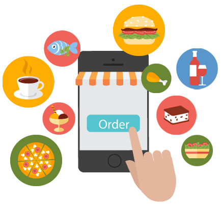 Customers can place orders for their favorite dishes, right from the comfort of their choice through their web or smartphone, developed using this Online food ordering service.