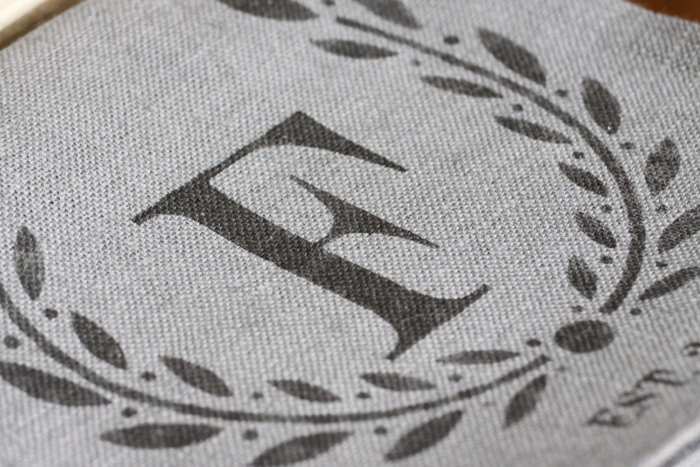 108 l custom monogramed farm burlap table runner 14 w x