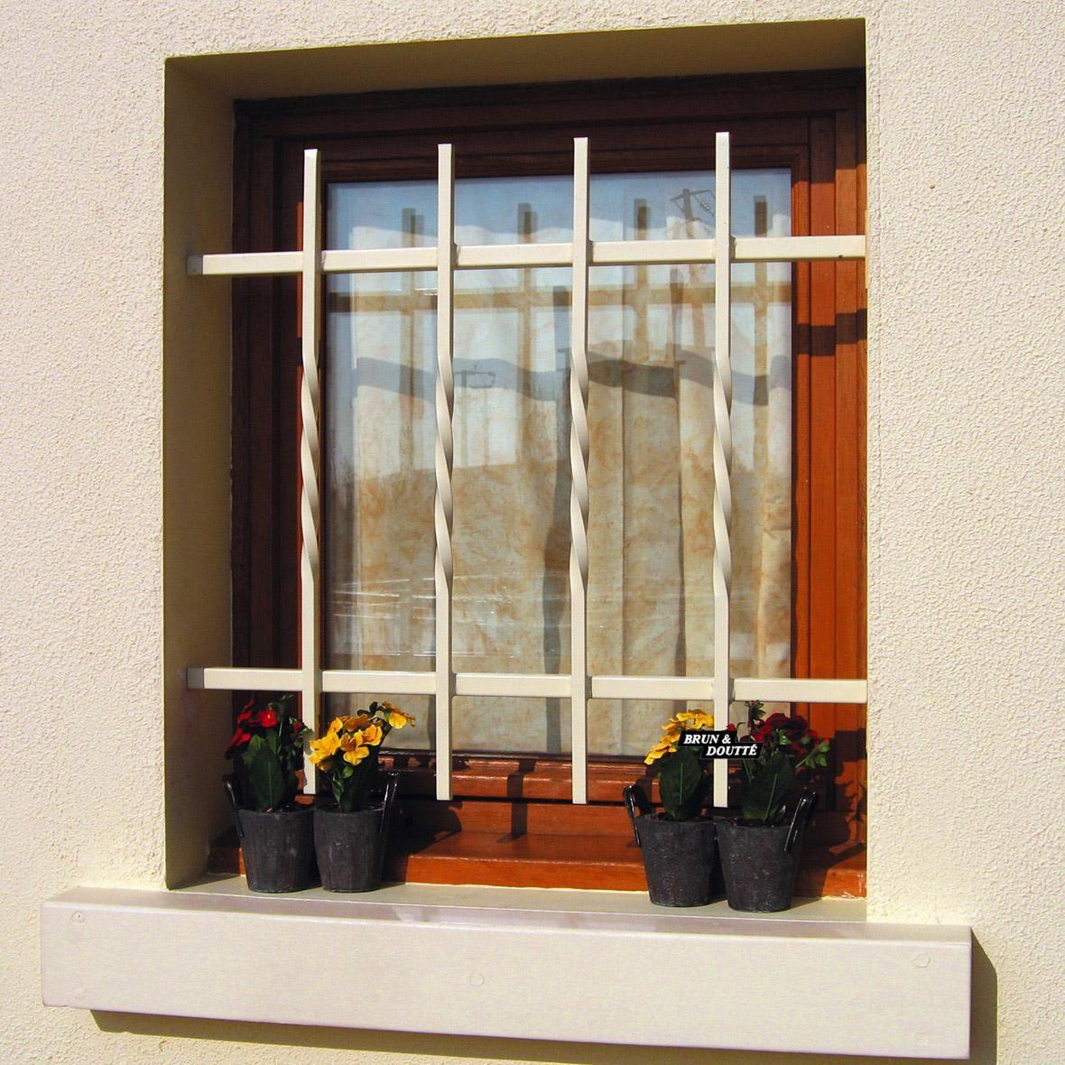 grille de défense pour fenêtre ranch l150 x h60 cm