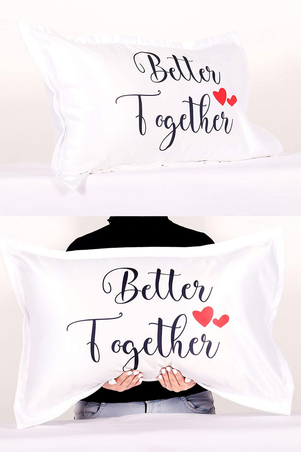 Pillow Cover Design Ideas Husband Wife Gifts Pillow Cover Design Better Together