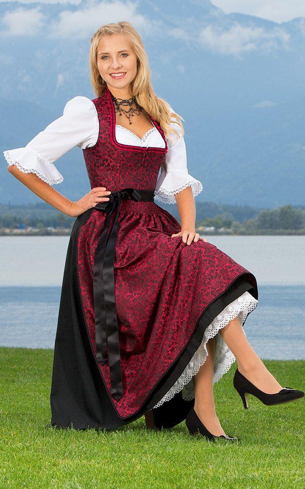 9888baf2a77cc5 Landhausmode - Modern Dresses based on Dirndl (Traditional Alpine Peasant  Clothing)