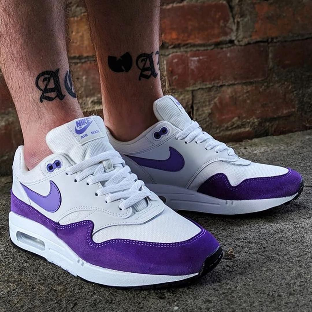 "the latest e0519 afec2  1⃣9⃣ WMNS Nike Air Max 1 ""Atomic Violet"" , worn by  legalizeshard"
