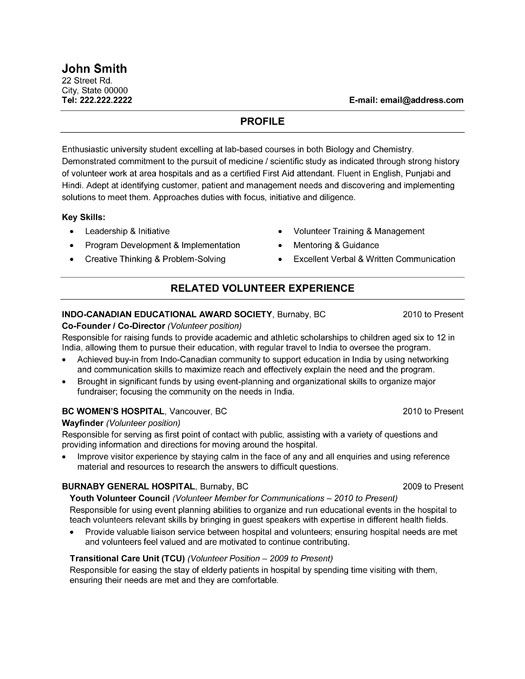 Health Care Resume Templates