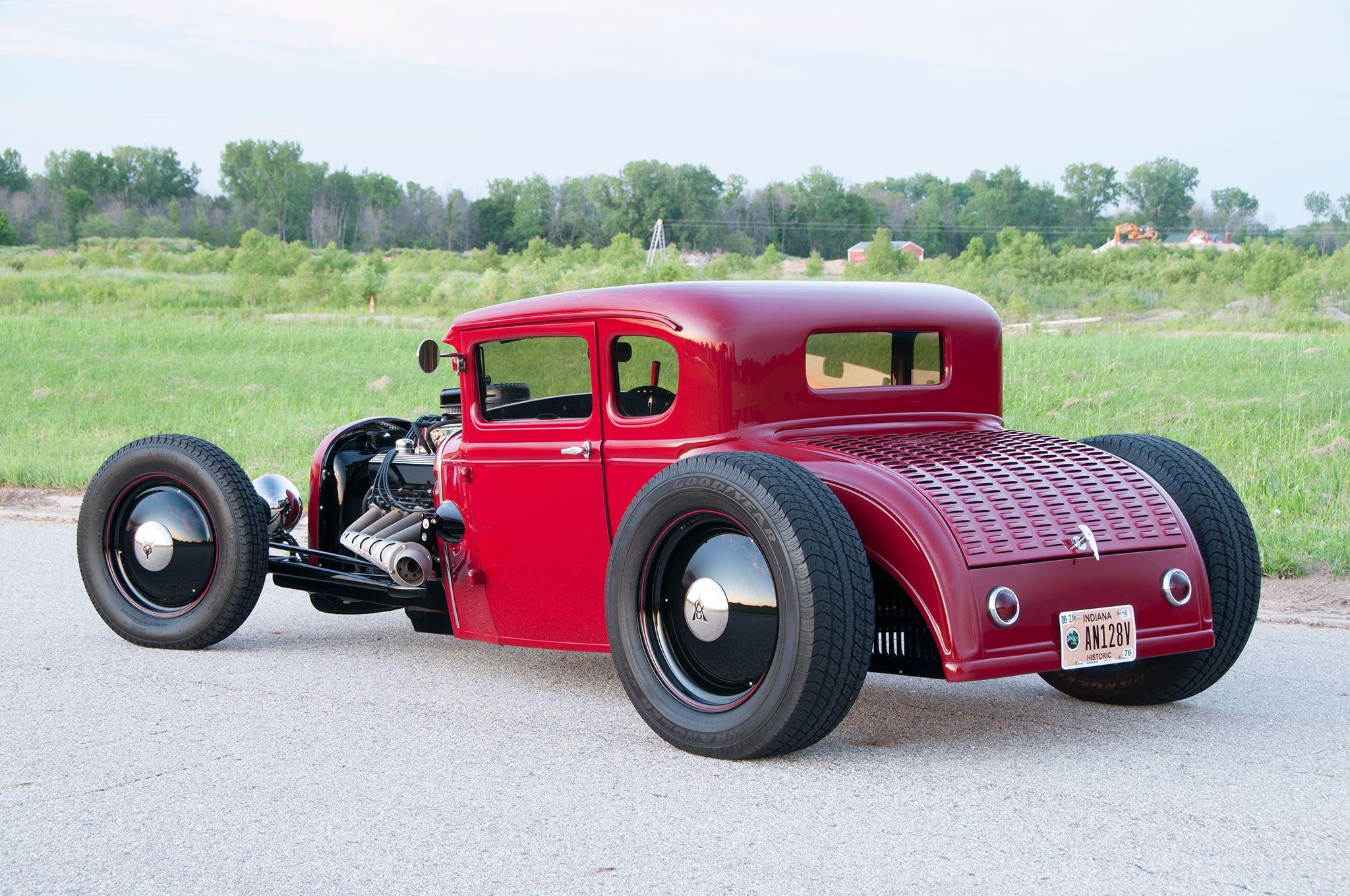 Chopped and Channeled 1931 Ford Model A Runs a Big Block V-8 - Hot ...