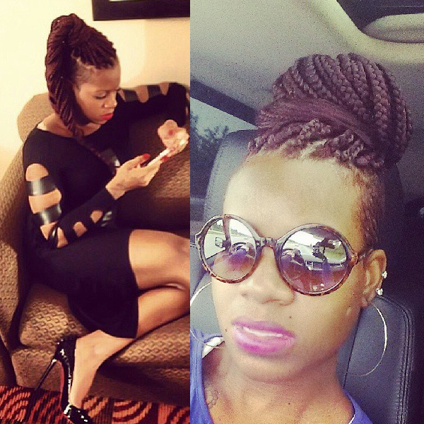 Fantasia Barrino Braids