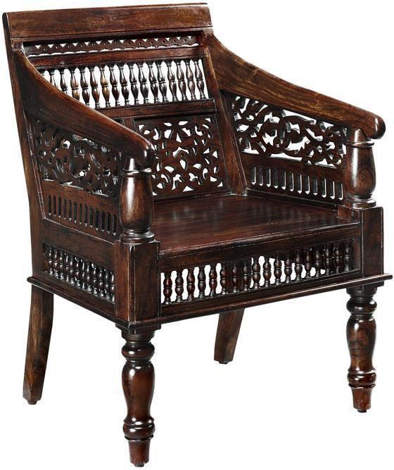 Hand-Carved Maharaja Chair HomeDecorators.com