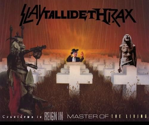 Holy of mother of metal! The ultimate hair raising mashup - SlayTalliDethRax! #Slayer #Metallica #Megadeth #Anthrax