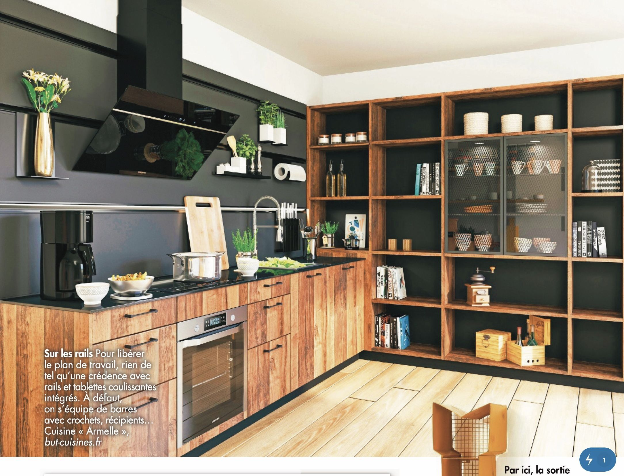 Cuisine Contemporaine Cuisine Contemporaine Blanche Cuisine Contemporaine Blanche Et Bois Cuisine Contemporaine Bois Cuisine In 2020 Home Home Decor Shelving Unit