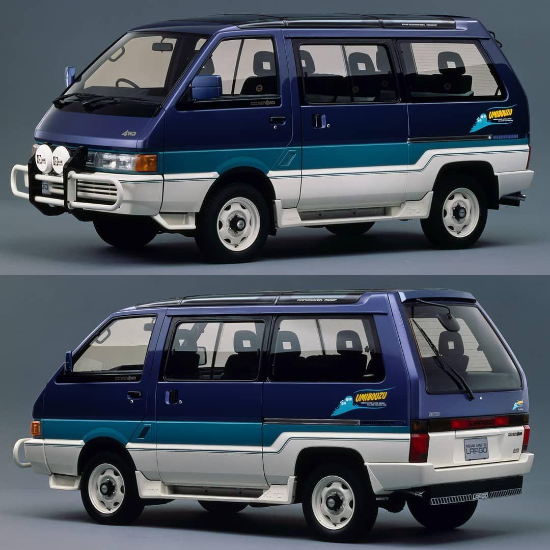 216 Likes 5 Comments Japanese Tarmac Icons Jdm Tarmac Icons On Instagram 1989 Nissan Vanette Largo Coach 4wd Turbo Omibouzu Limited Edit Nissan 4wd Jdm