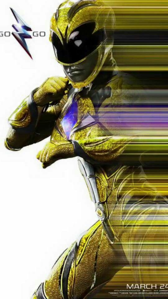 NYCC Yellow Ranger poster 2017 movie
