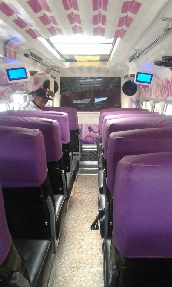 Matatu Interior Custom Cars Public Transport