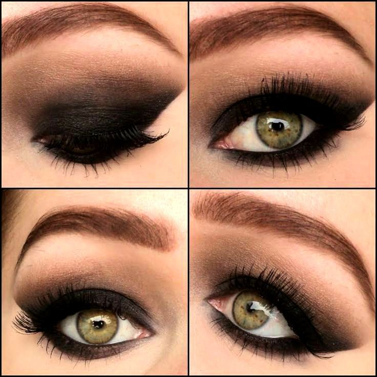 How to do a Smokey eye for green eyes