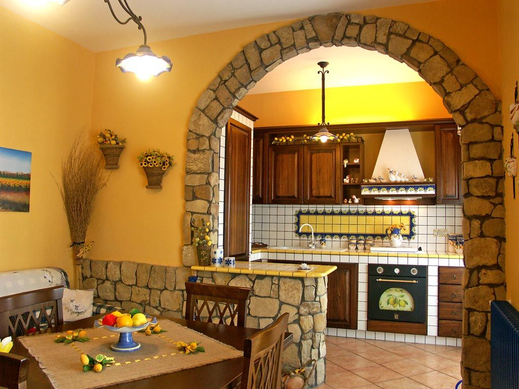 cucine da sogno in muratura - Cerca con Google | Casa e giardino ...