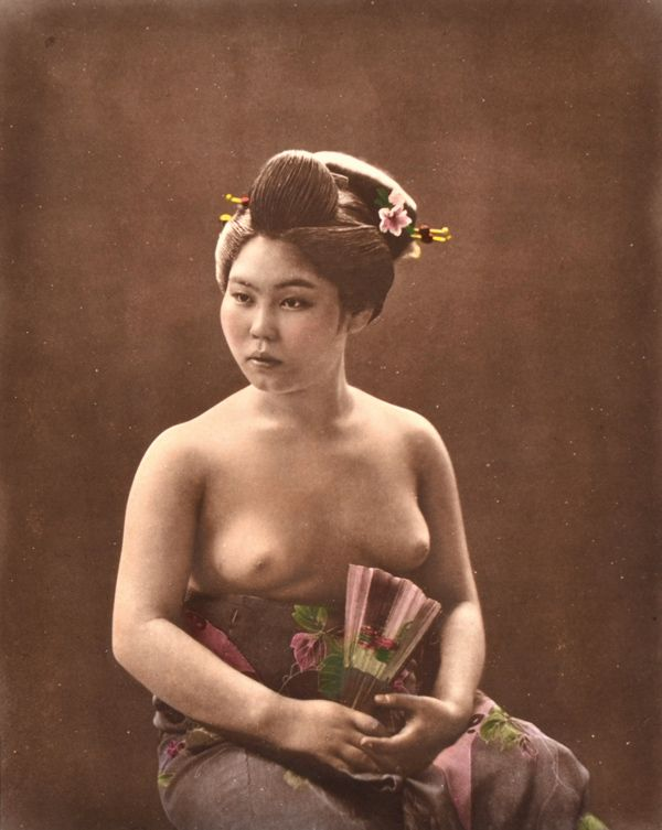 Can Japanese lady in naked